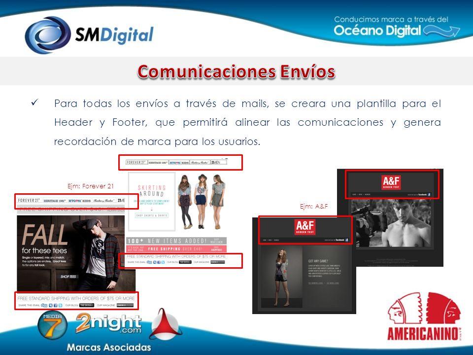 Comunicaciones Envíos