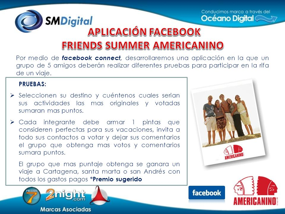 FRIENDS SUMMER AMERICANINO