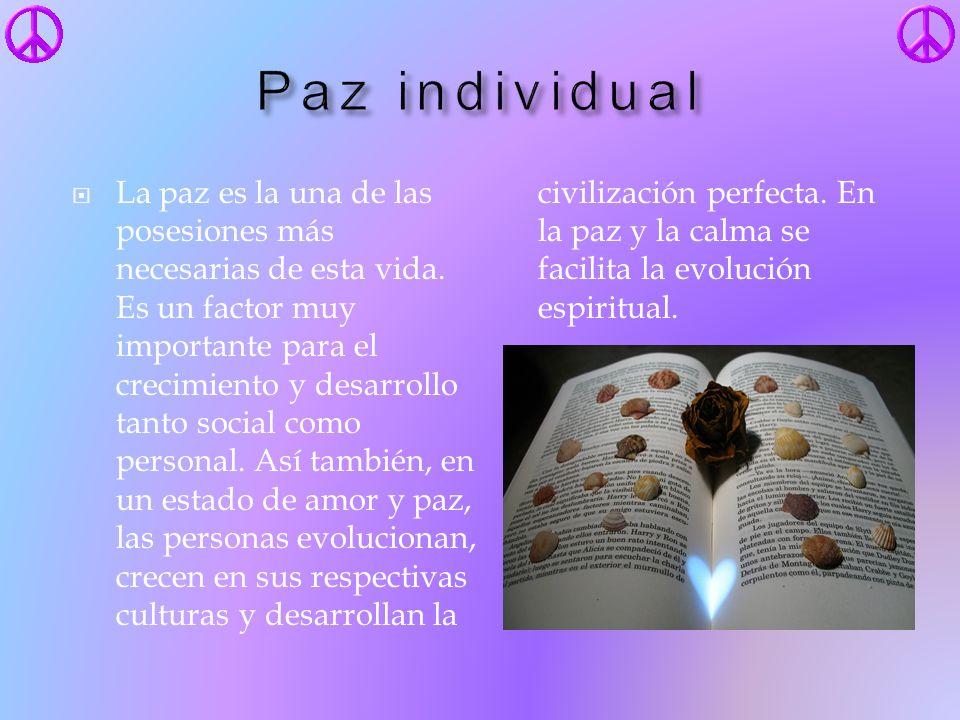 Paz individual