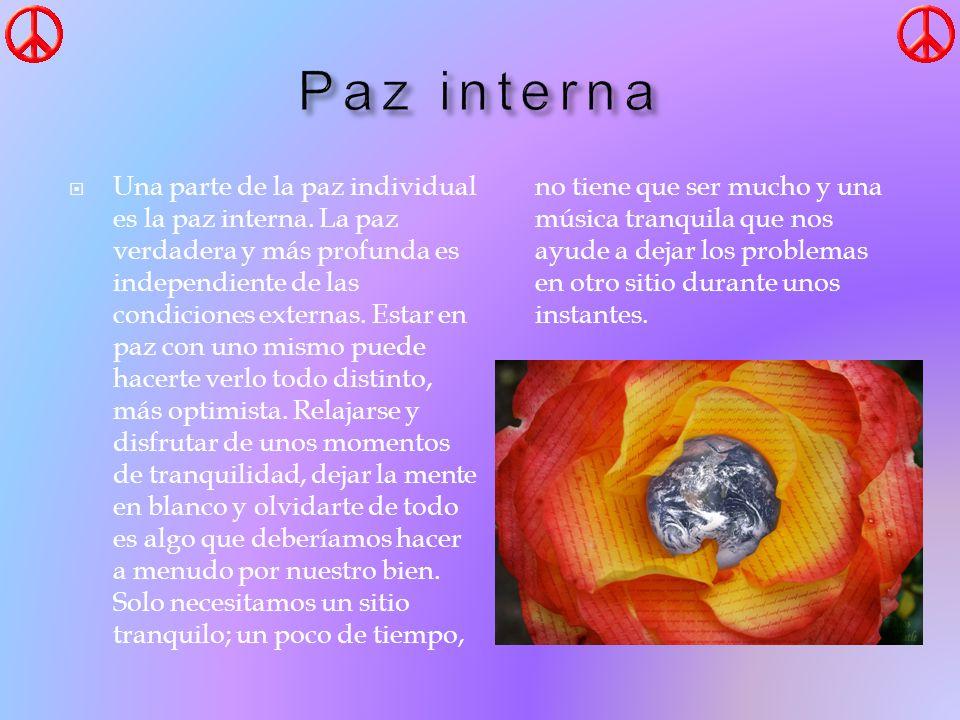 Paz interna