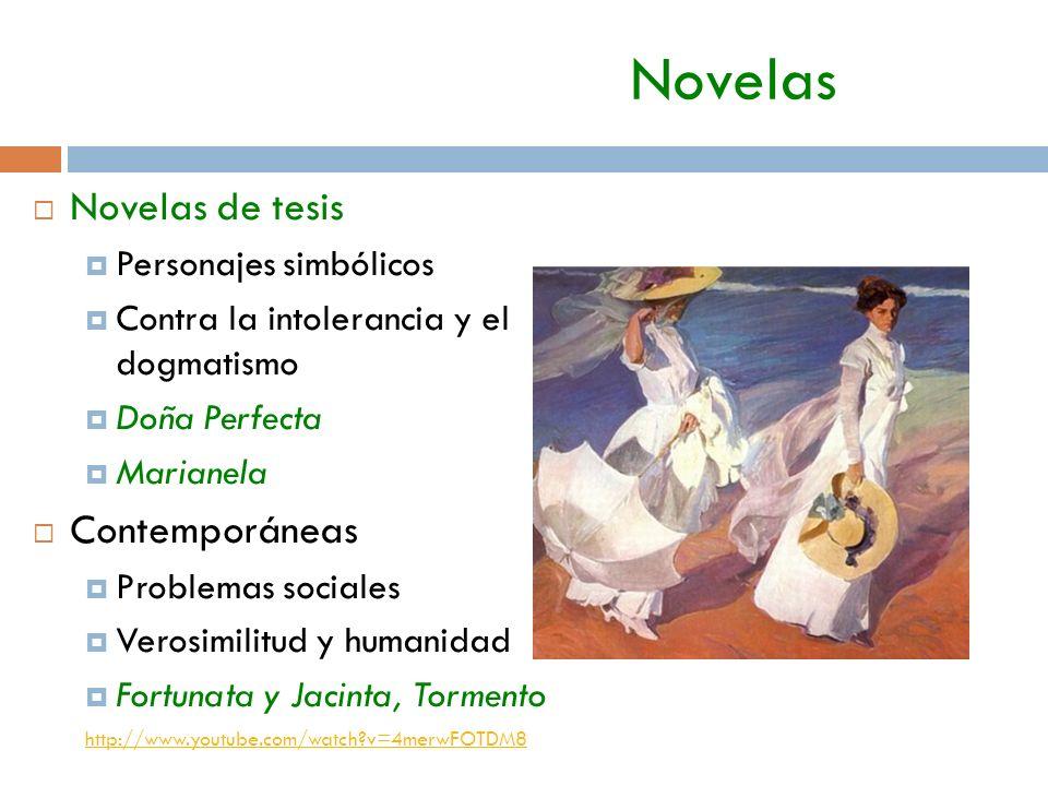 Novelas Novelas de tesis Contemporáneas Personajes simbólicos