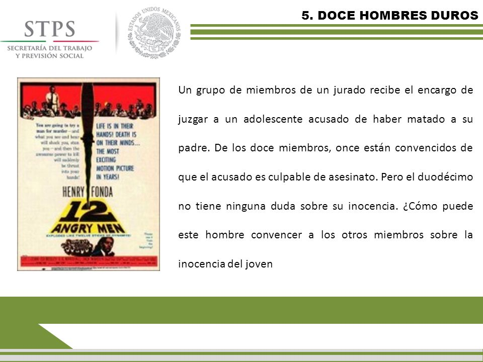 5. DOCE HOMBRES DUROS