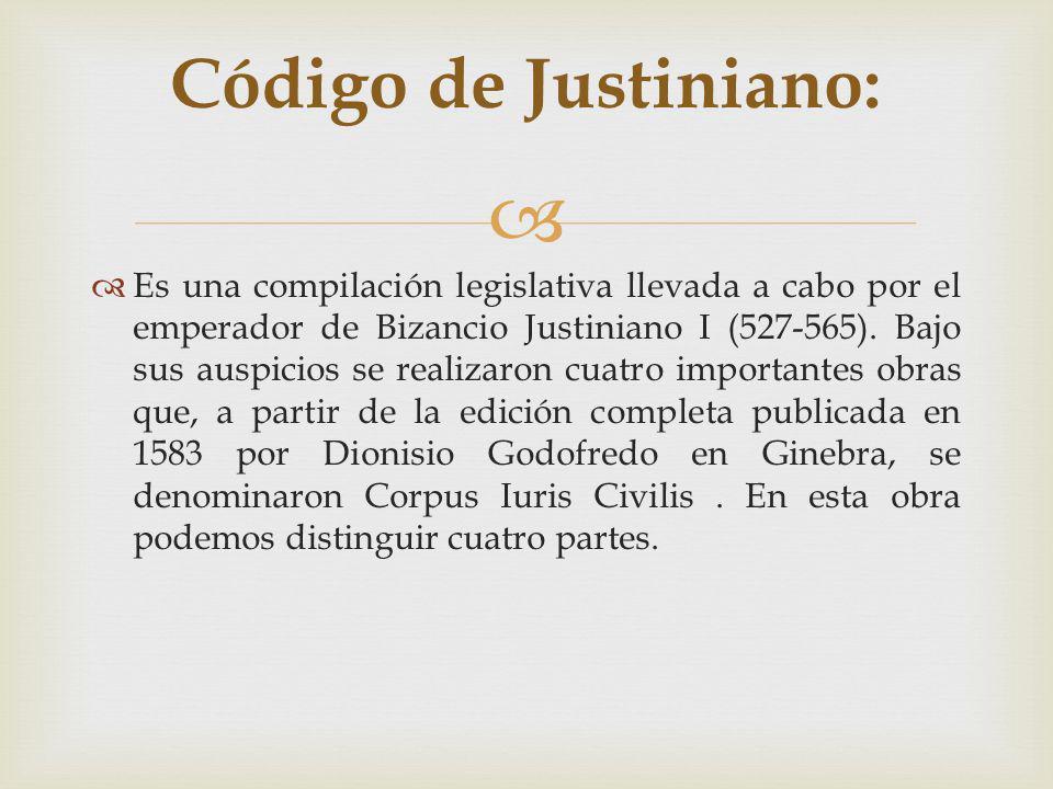 Código de Justiniano: