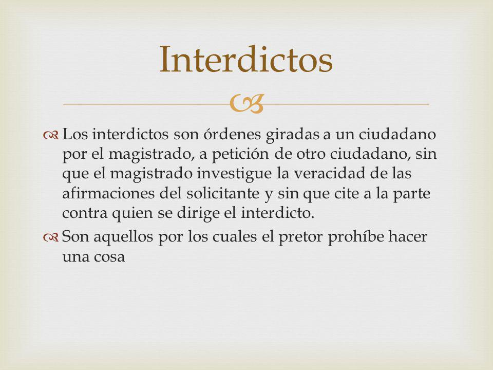 Interdictos