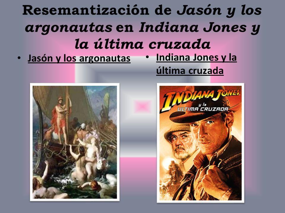 Resemantización de Jasón y los argonautas en Indiana Jones y la última cruzada