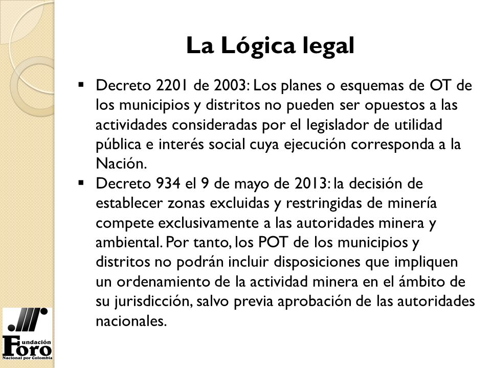La Lógica legal