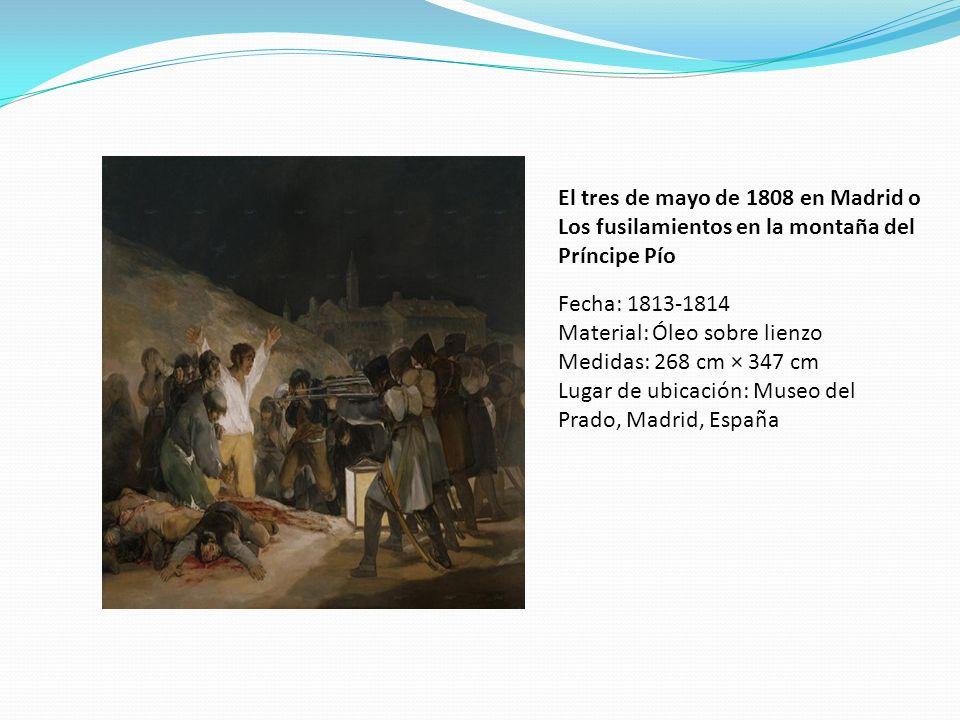 El tres de mayo de 1808 en Madrid o