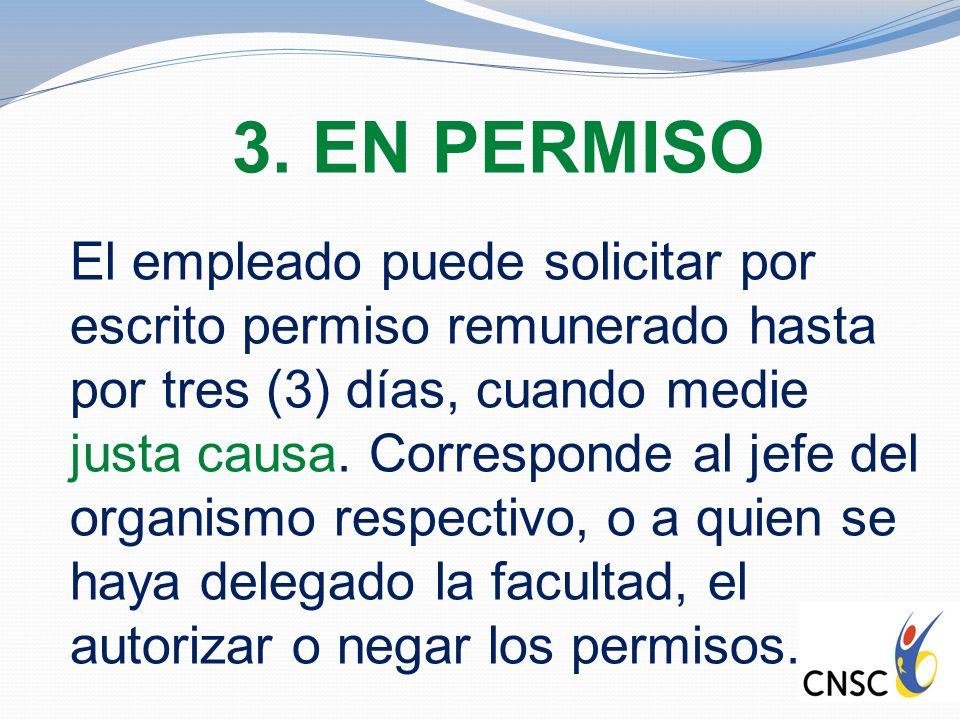 3. EN PERMISO