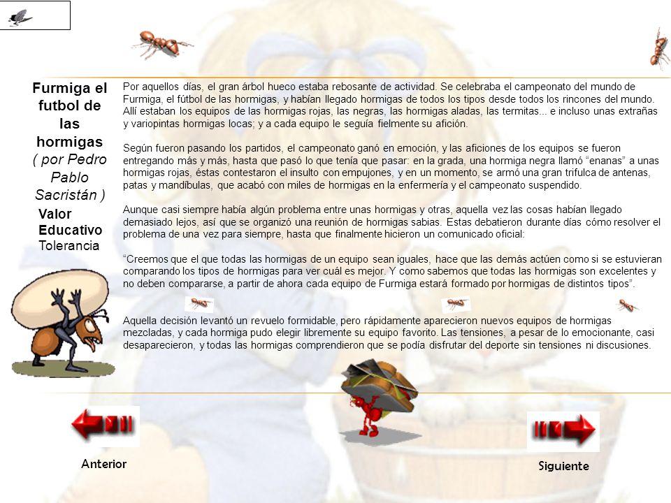Furmiga el futbol de las hormigas