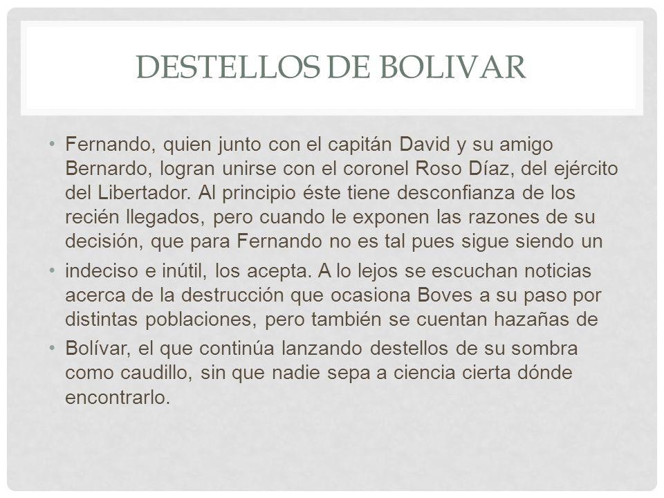 Destellos de bolivar