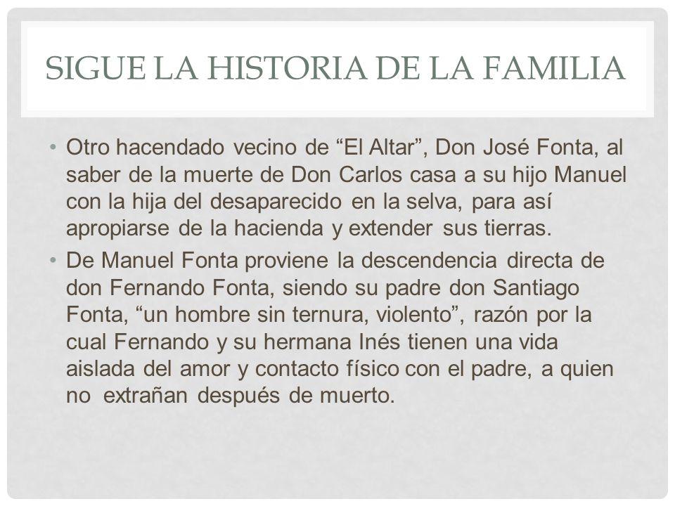 Sigue la historia de la familia