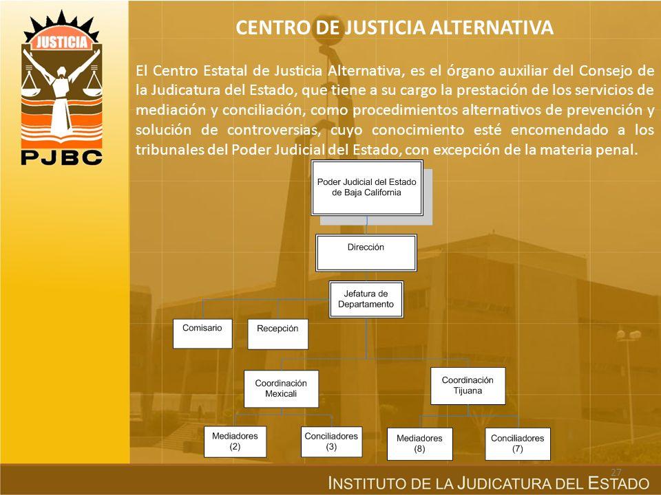 CENTRO DE JUSTICIA ALTERNATIVA