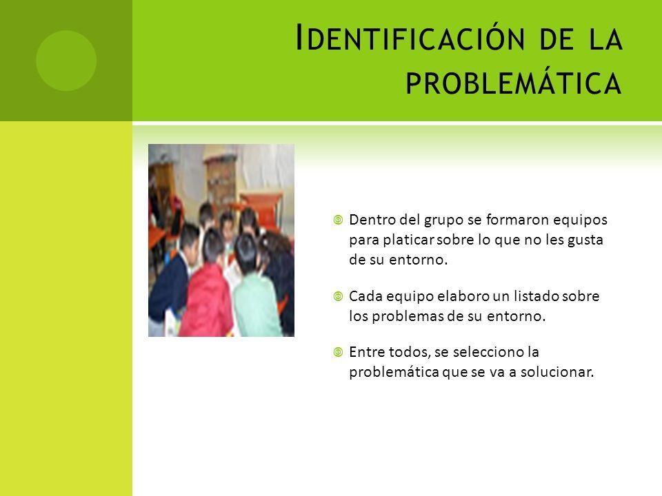 Identificación de la problemática