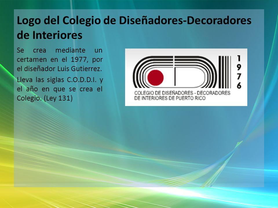 Logo del Colegio de Diseñadores-Decoradores de Interiores