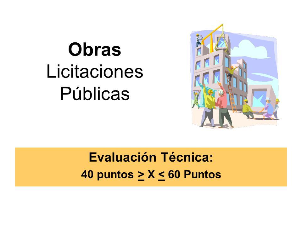 Obras Licitaciones Públicas