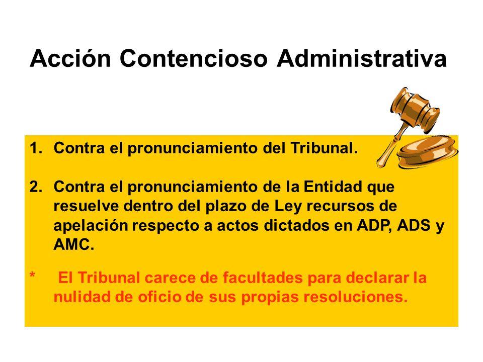 Acción Contencioso Administrativa