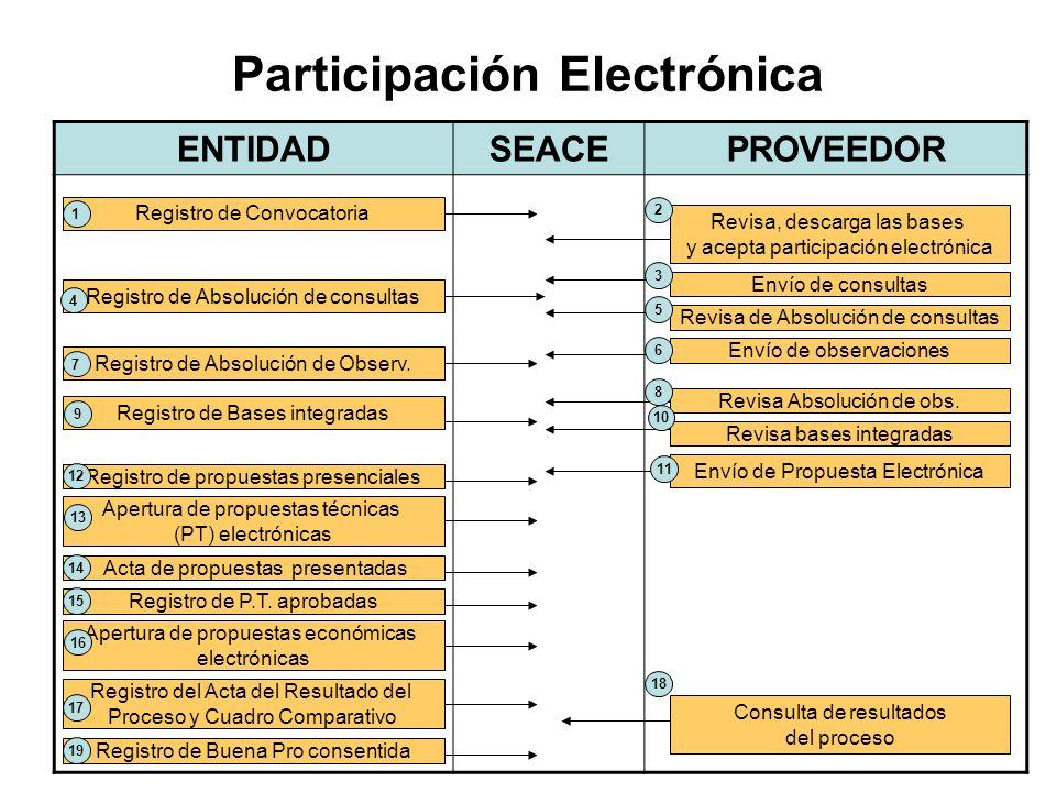 Participación Electrónica