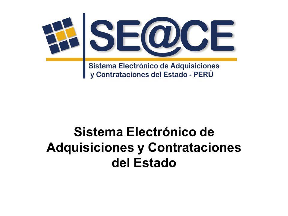 Sistema Electrónico de Adquisiciones y Contrataciones del Estado