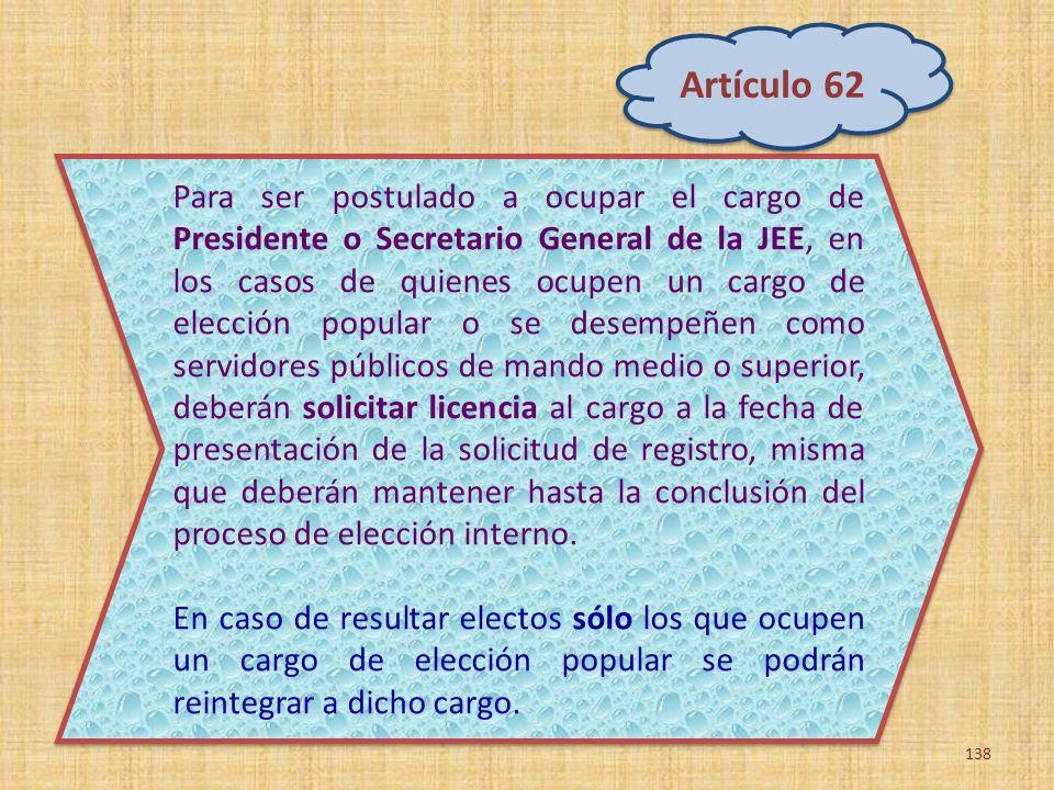 Artículo 62