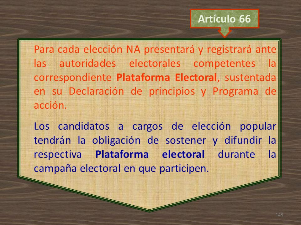 Artículo 66