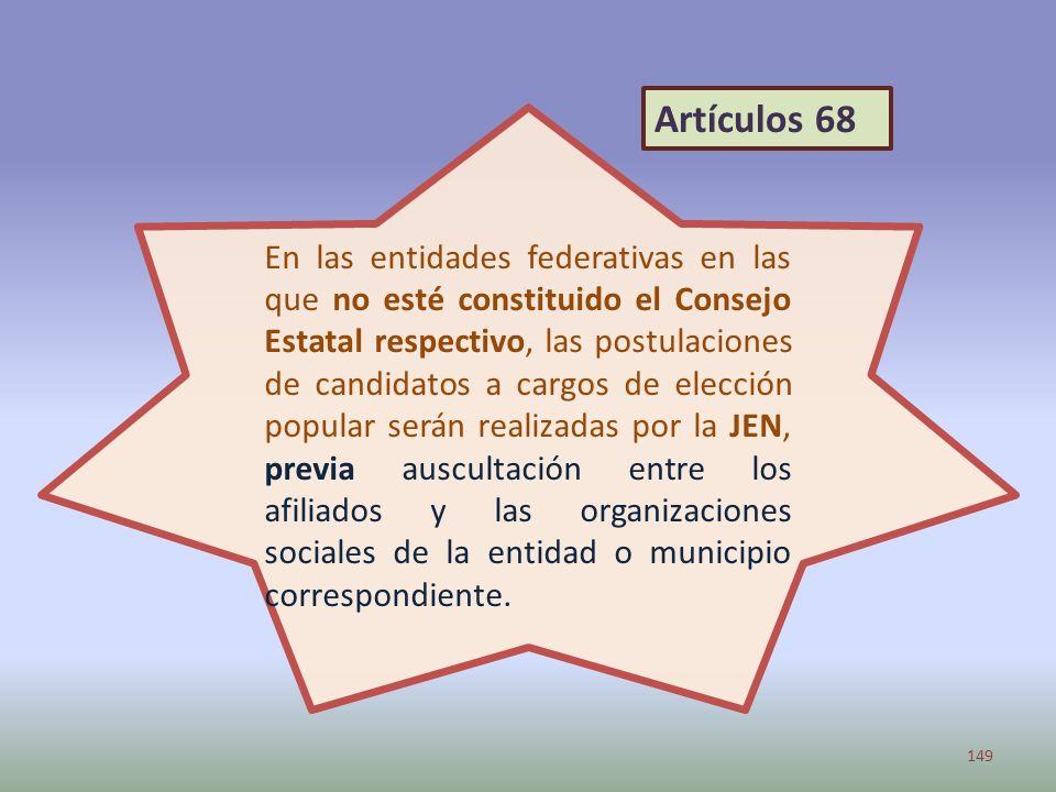 Artículos 68