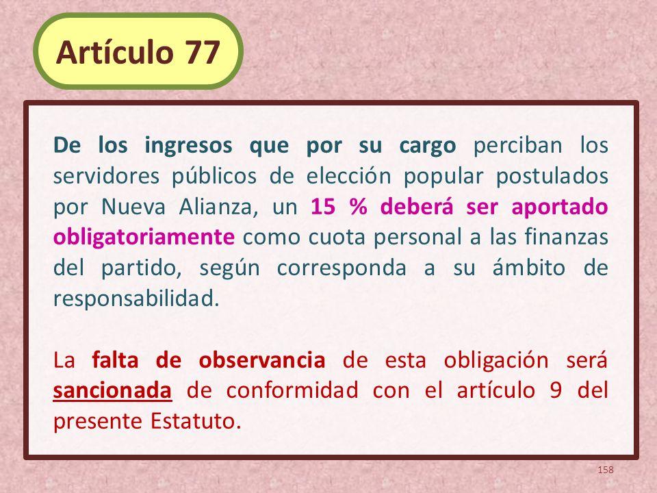 Artículo 77