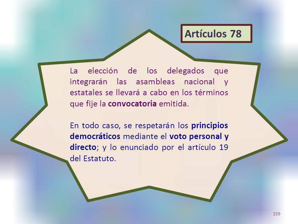 Artículos 78
