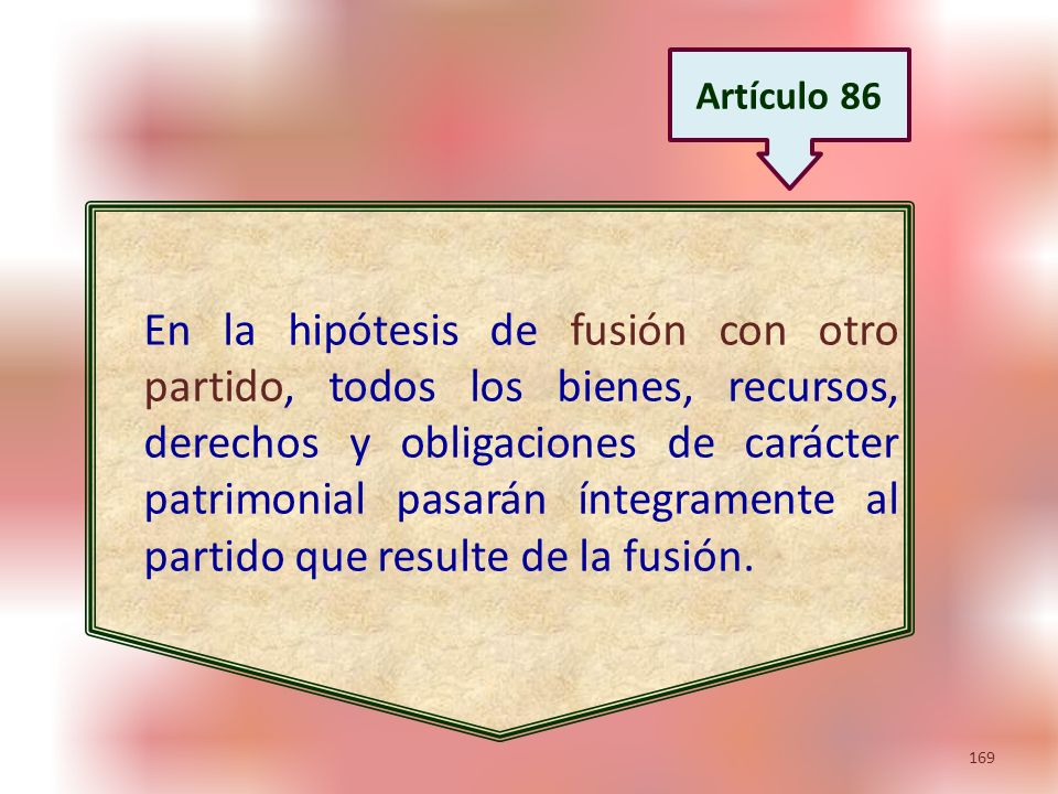Artículo 86