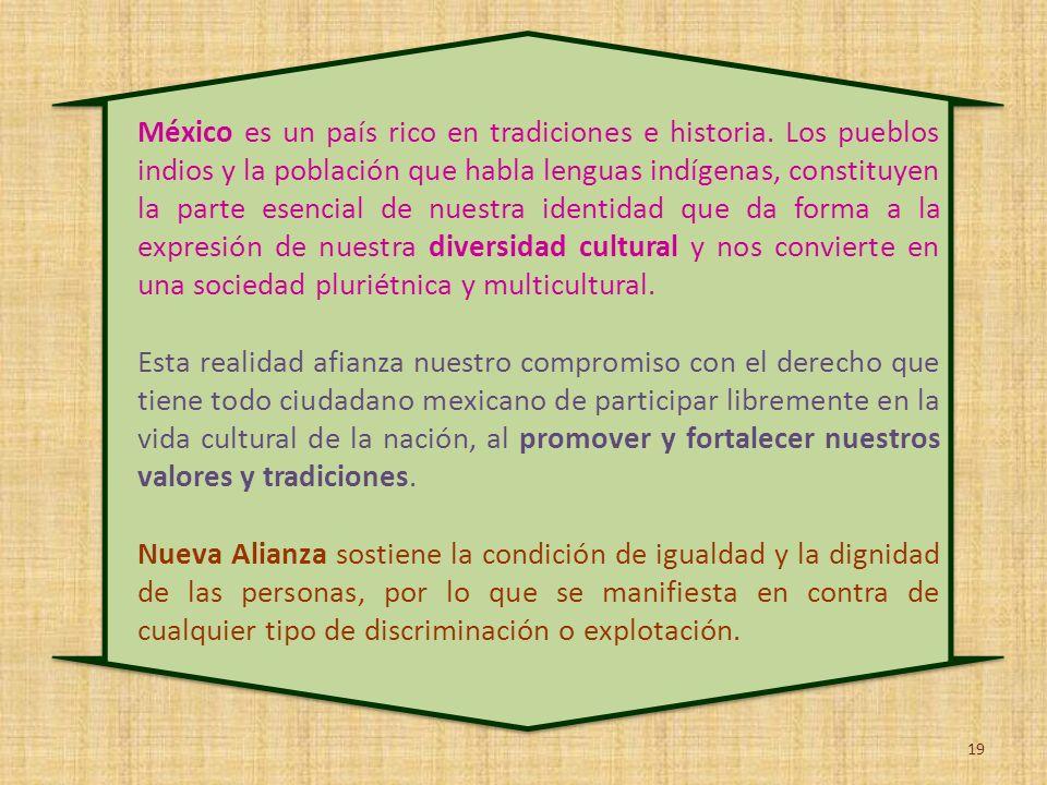 México es un país rico en tradiciones e historia