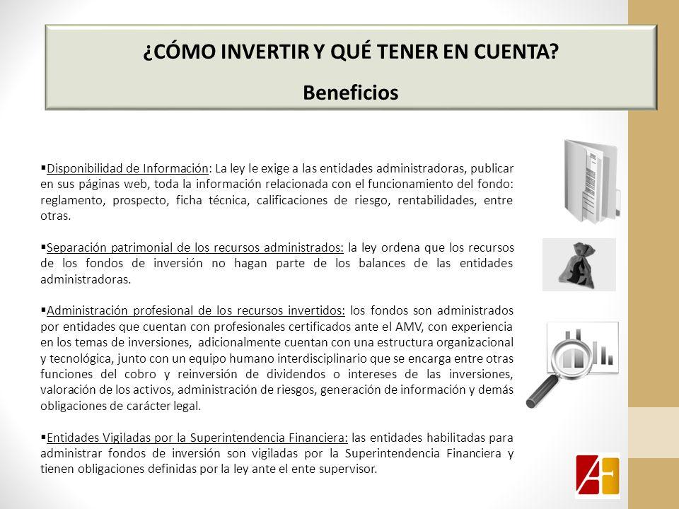 ¿CÓMO INVERTIR Y QUÉ TENER EN CUENTA