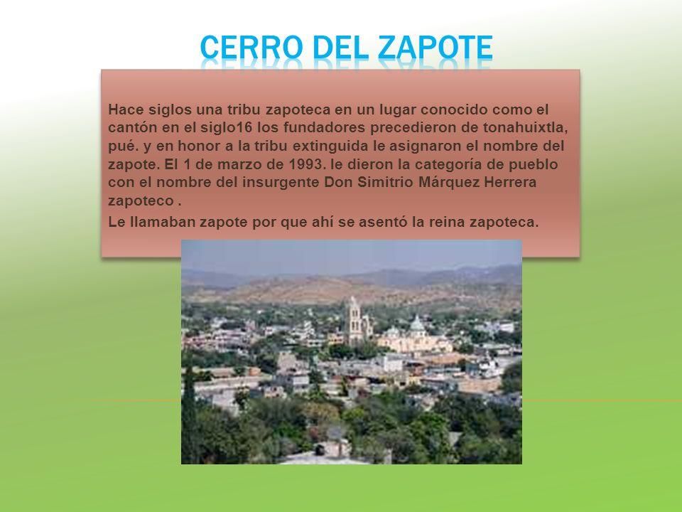 CERRO DEL ZAPOTE