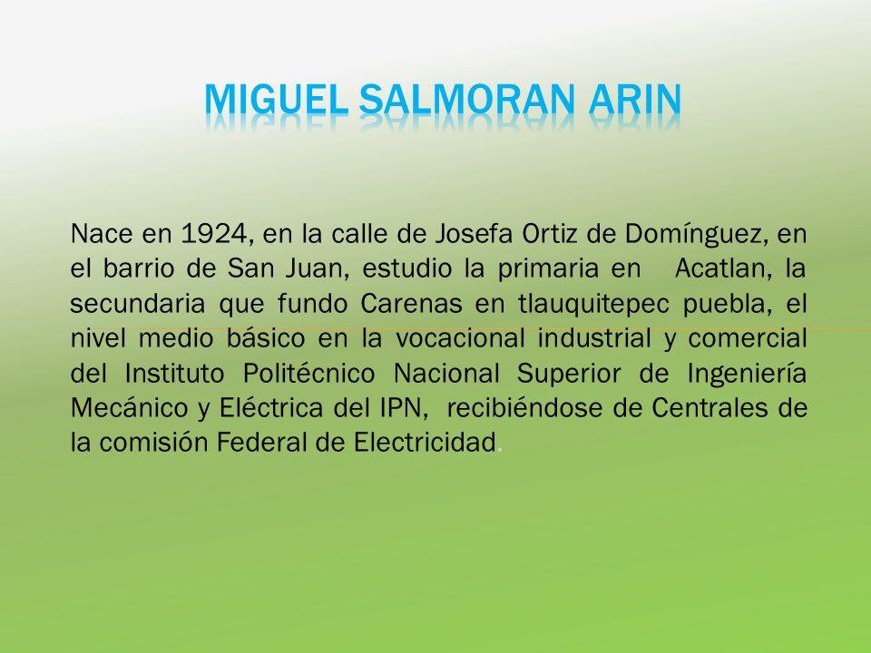 MIGUEL SALMORAN ARIN