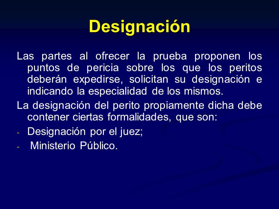 Designación