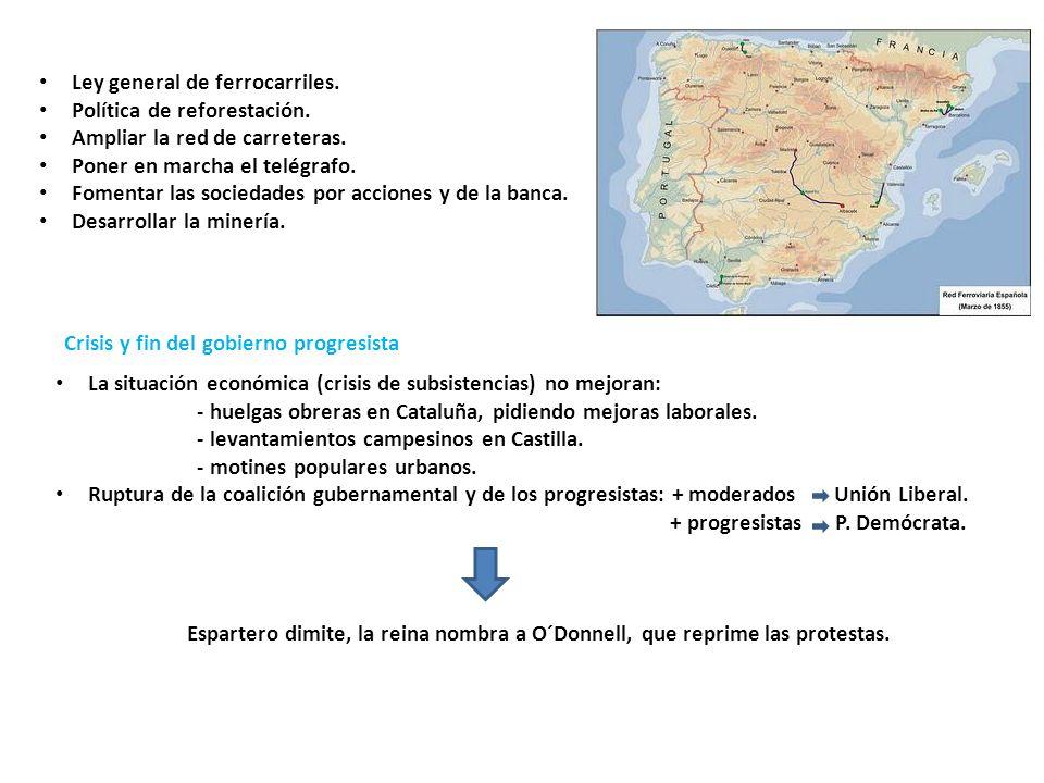 Ley general de ferrocarriles.