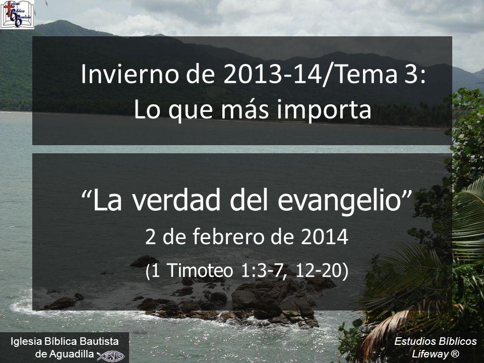 Invierno de 2013-14/Tema 3: Lo que más importa