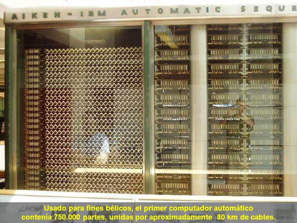 Usado para fines bélicos, el primer computador automático