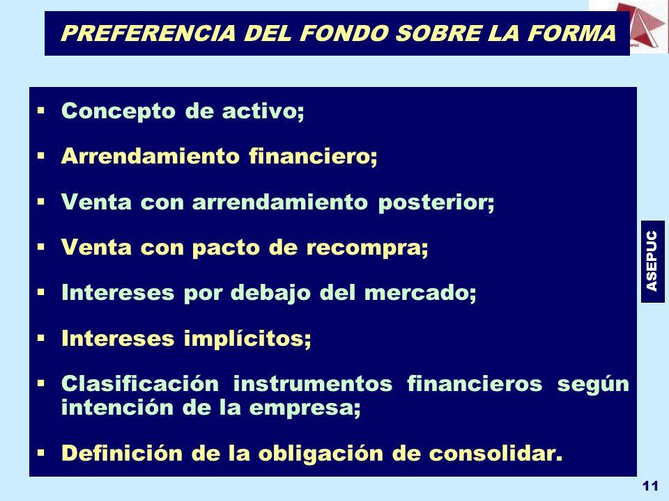 PREFERENCIA DEL FONDO SOBRE LA FORMA