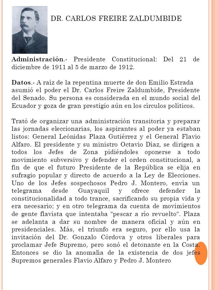 DR. CARLOS FREIRE ZALDUMBIDE