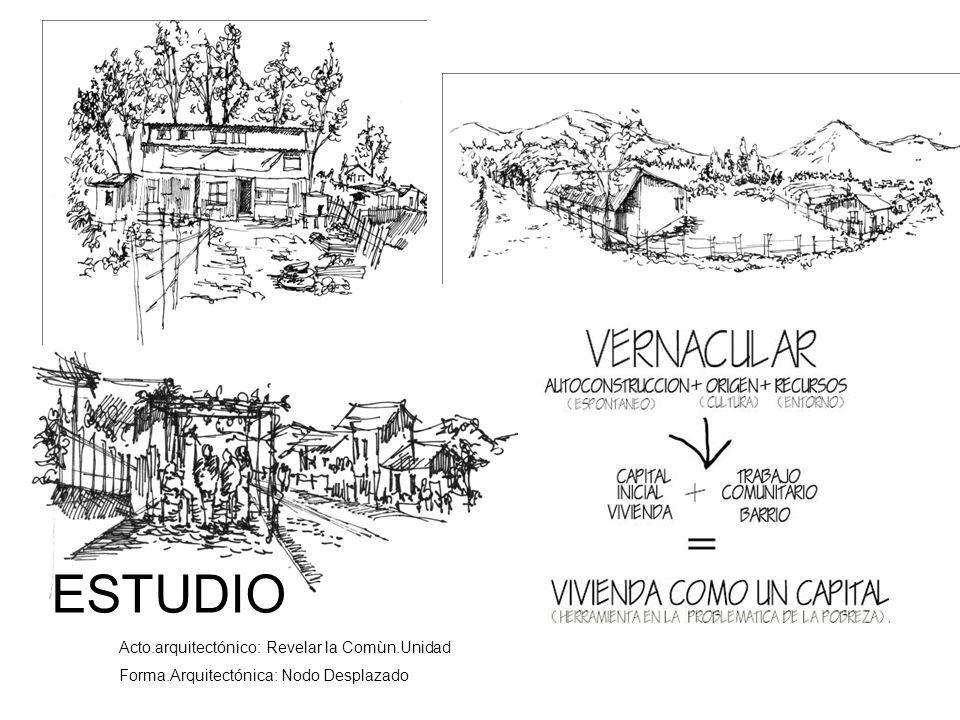 ESTUDIO Acto.arquitectónico: Revelar la Comùn.Unidad
