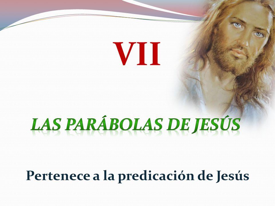 Pertenece a la predicación de Jesús