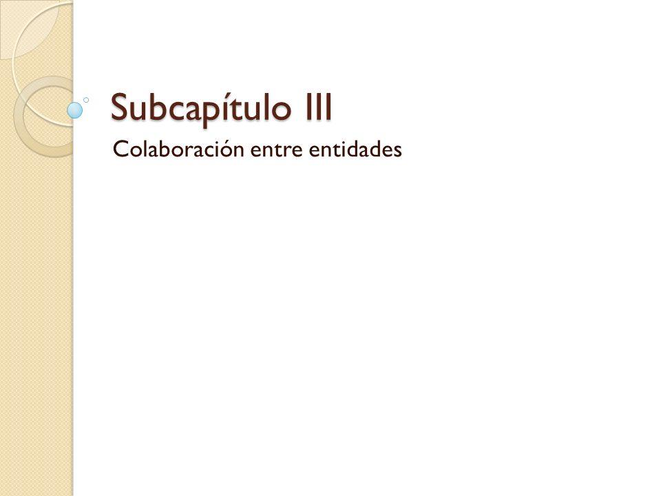 Colaboración entre entidades