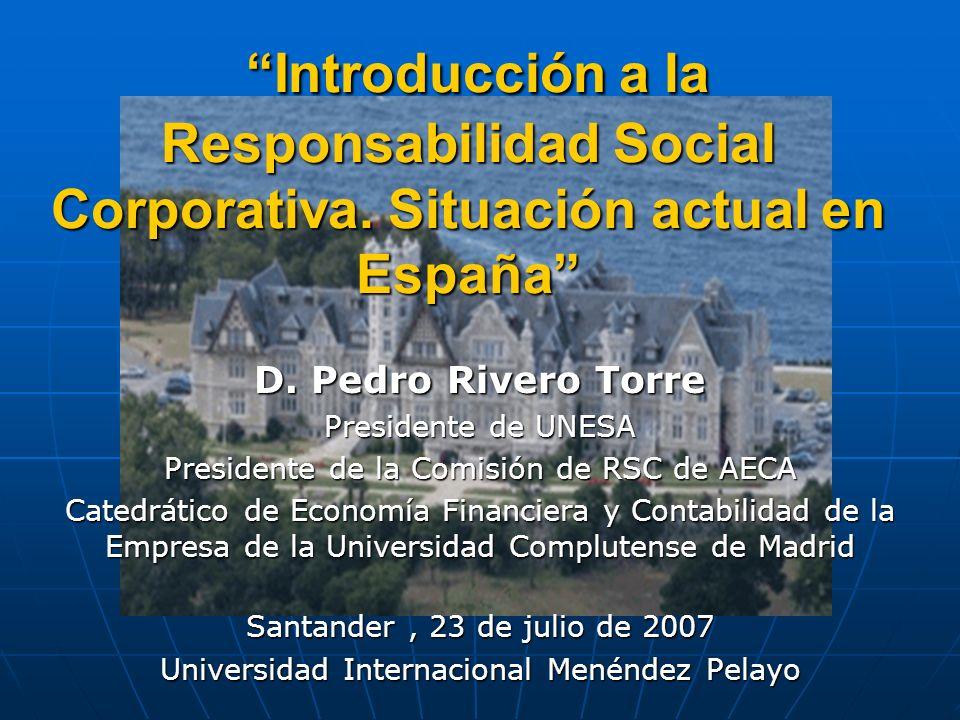 Introducción a la Responsabilidad Social Corporativa