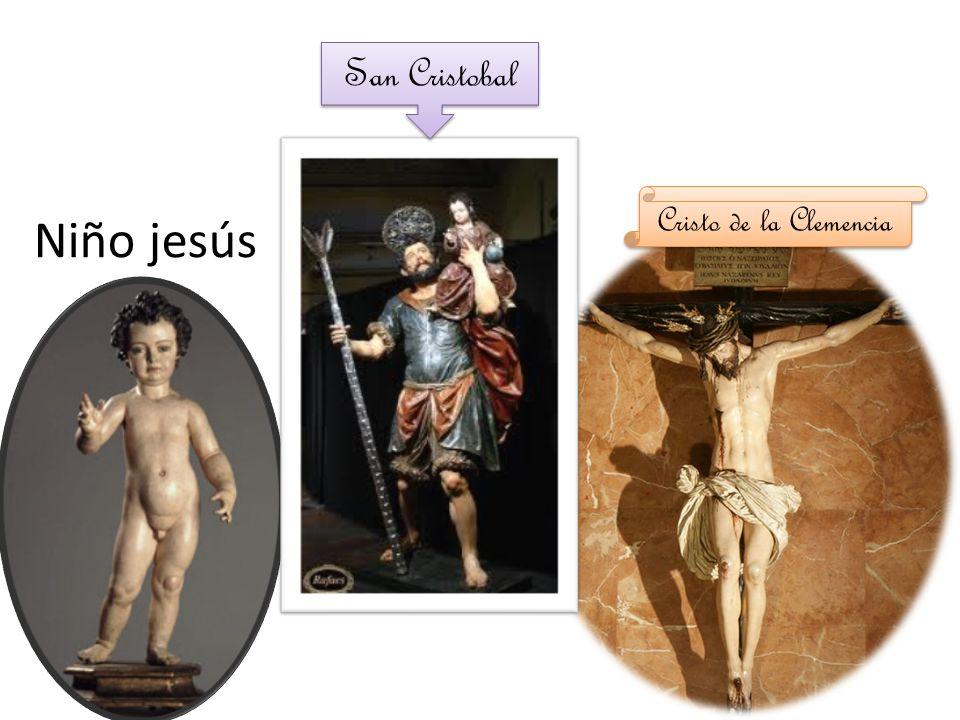 San Cristobal Cristo de la Clemencia Niño jesús