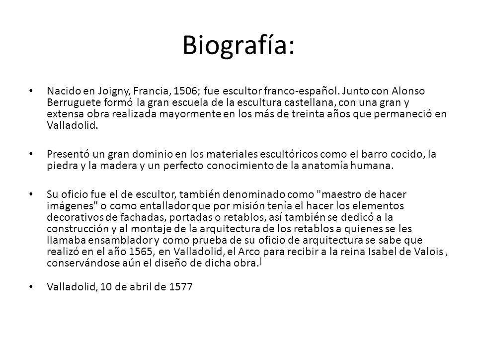 Biografía:
