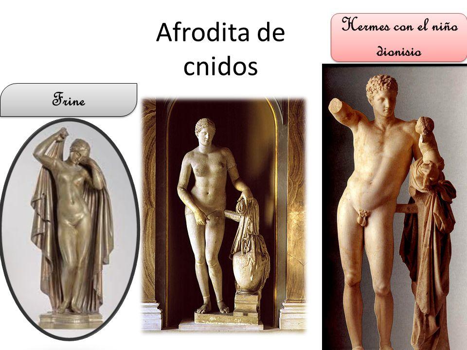 Hermes con el niño dionisio