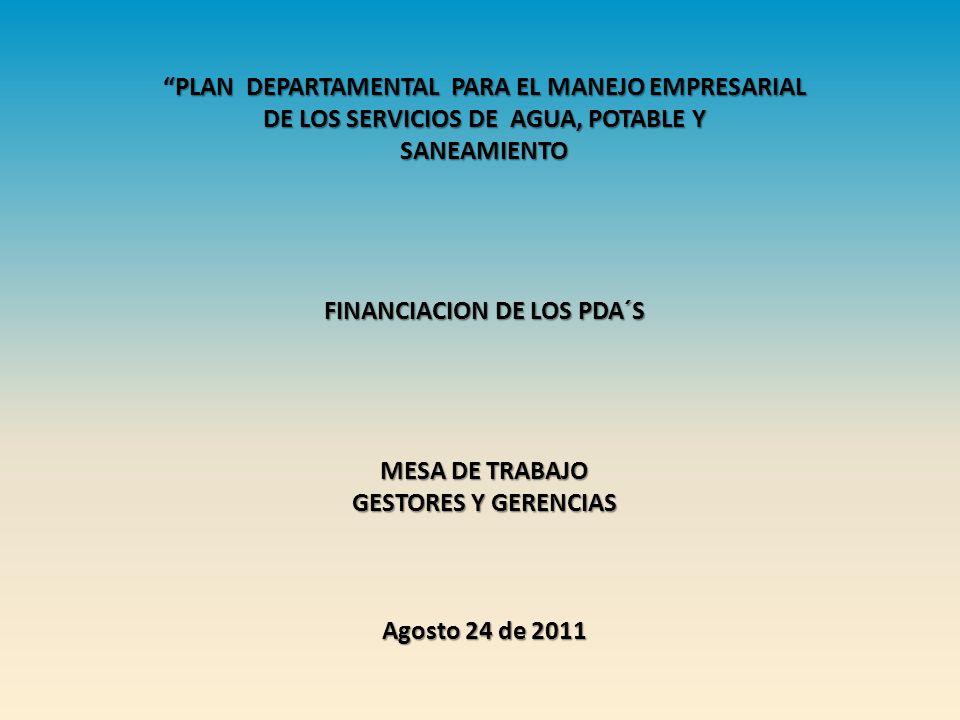 PLAN DEPARTAMENTAL PARA EL MANEJO EMPRESARIAL