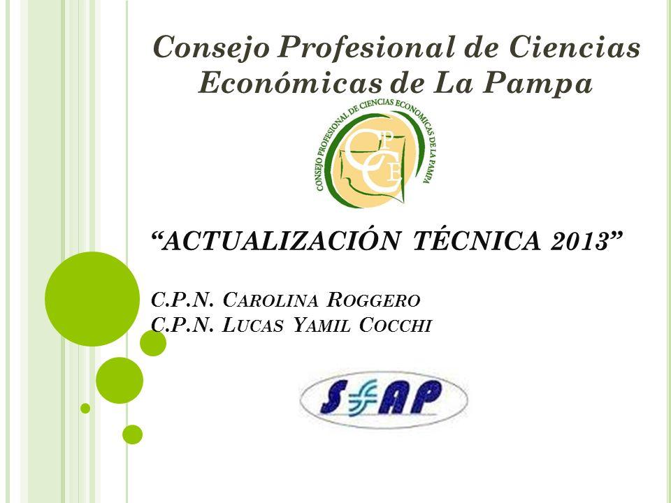 Consejo Profesional de Ciencias Económicas de La Pampa