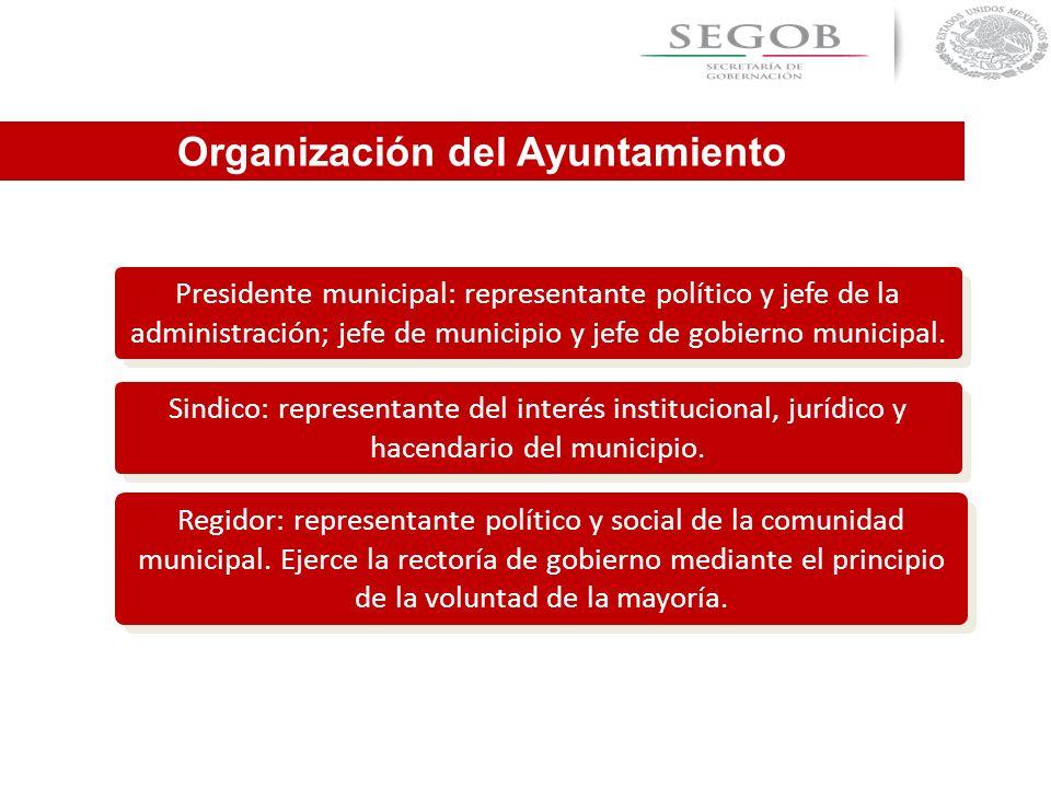 Organización del Ayuntamiento