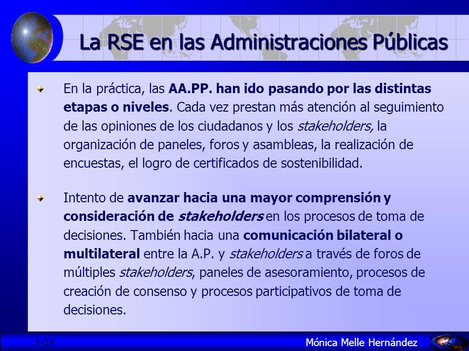 La RSE en las Administraciones Públicas
