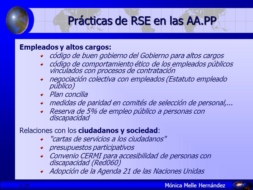 Prácticas de RSE en las AA.PP